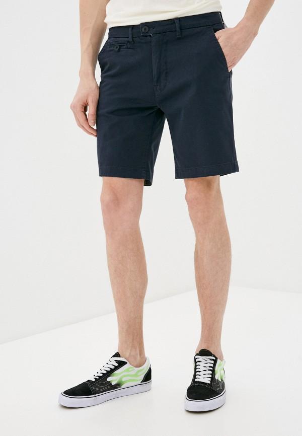 мужские повседневные шорты casual friday by blend, синие