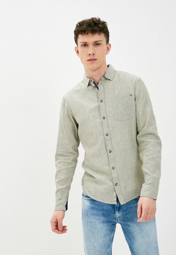 мужская рубашка с длинным рукавом blend, зеленая