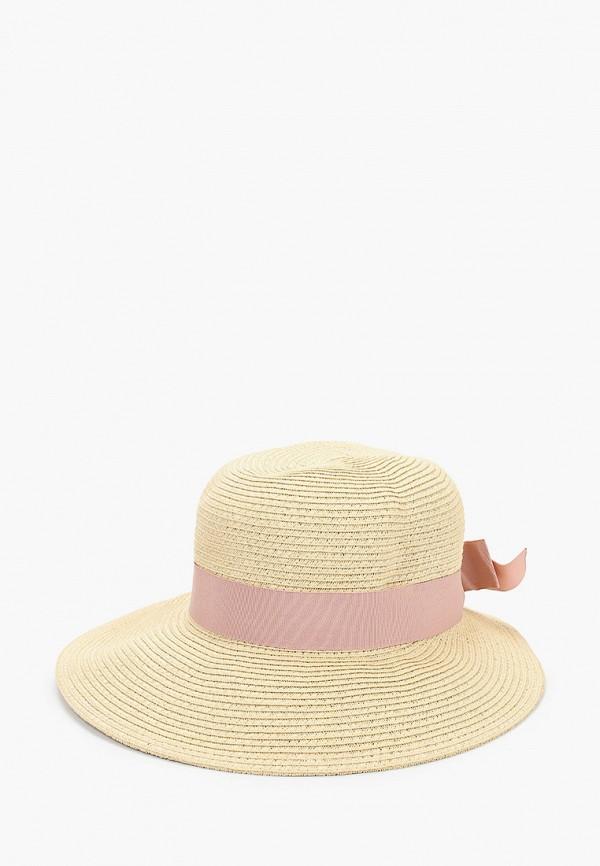 Шляпа Fabretti бежевого цвета