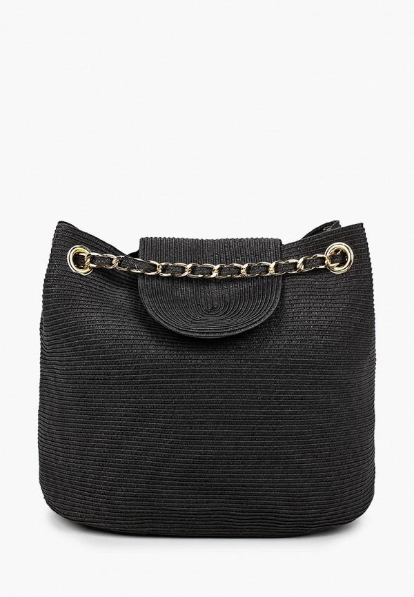 женская пляжные сумка fabretti, черная