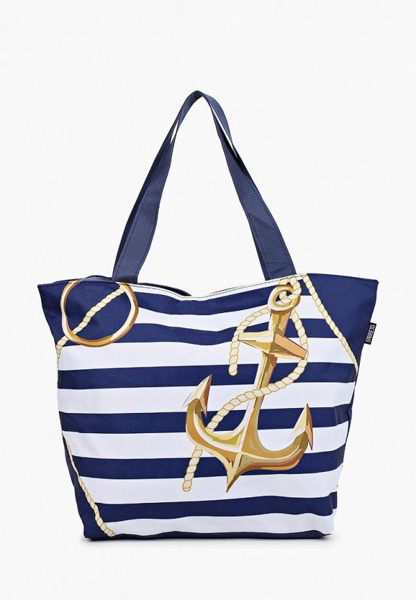 женская сумка-шоперы fabretti, разноцветная
