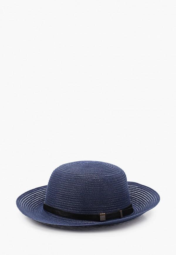 Шляпа Fabretti синего цвета