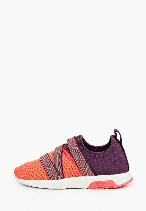 кроссовки native для девочки, разноцветные