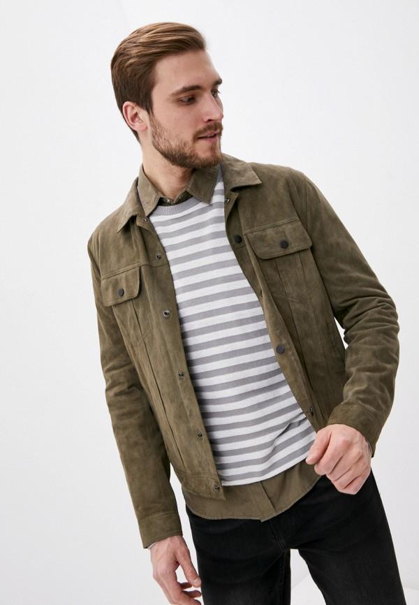 мужская куртка blouson, хаки