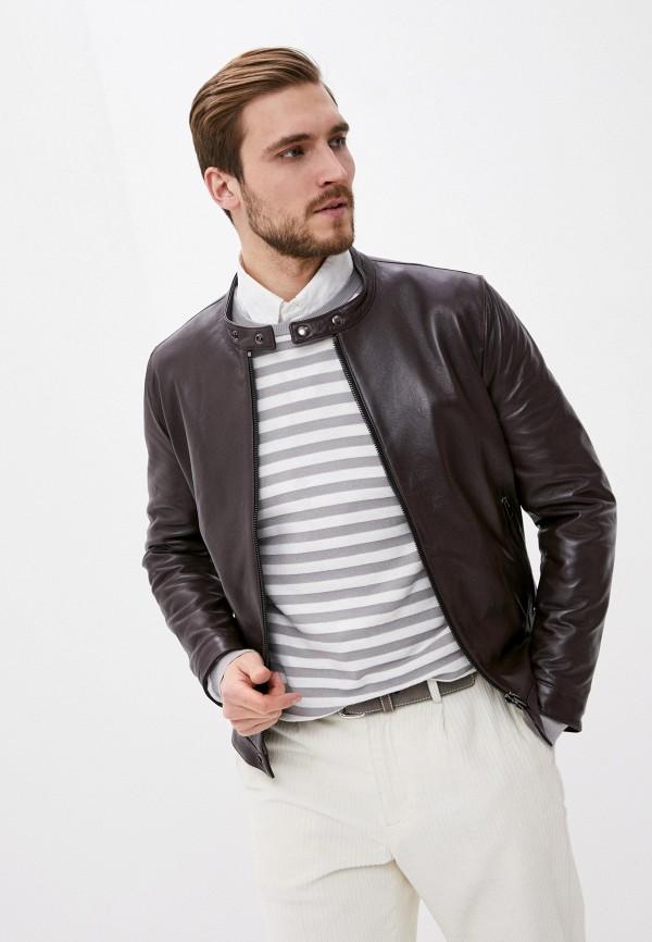 мужская куртка blouson, бордовая