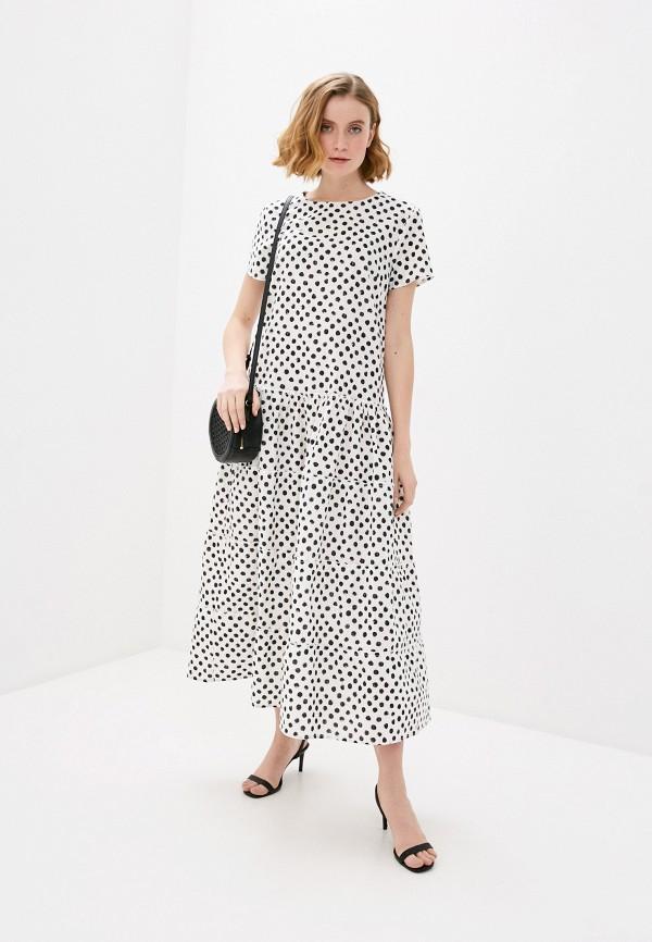 женское повседневные платье bulmer, белое