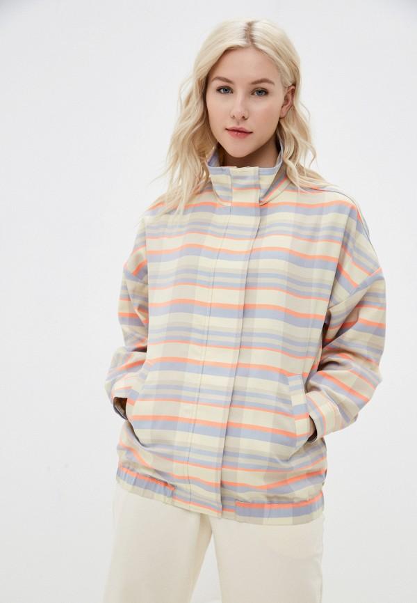 женская куртка unq, бежевая