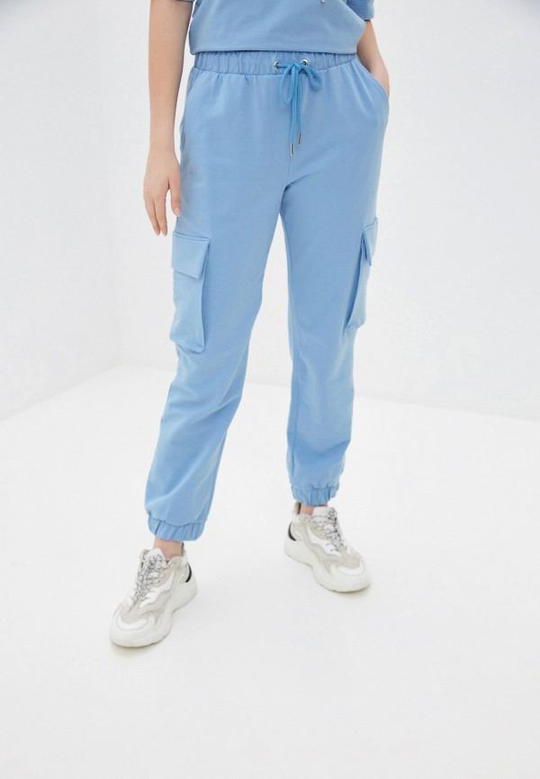 женские спортивные брюки unq, голубые