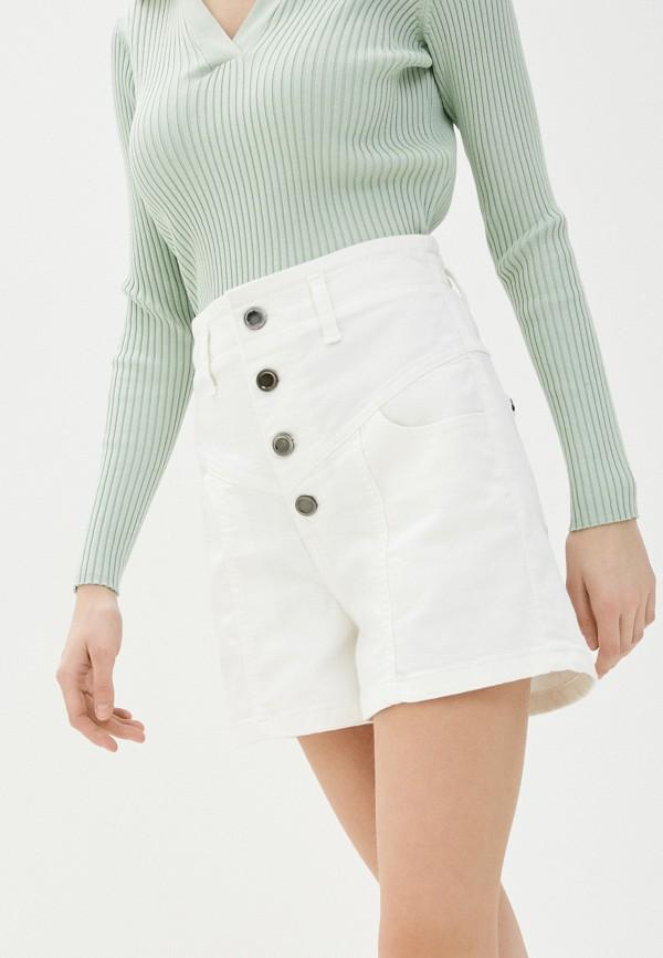 женские джинсовые шорты unq, белые
