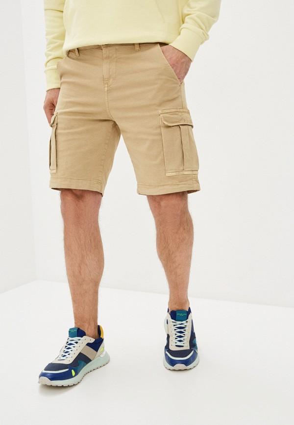 мужские повседневные шорты brian dales, белые