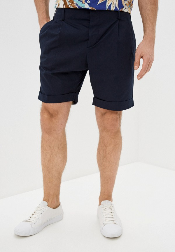 мужские повседневные шорты brian dales, синие