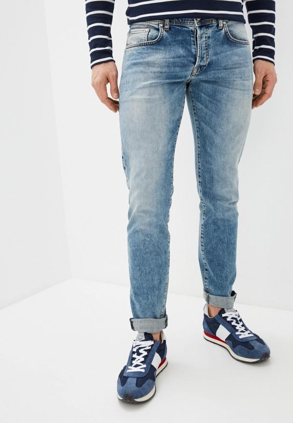 мужские зауженные джинсы brian dales, голубые