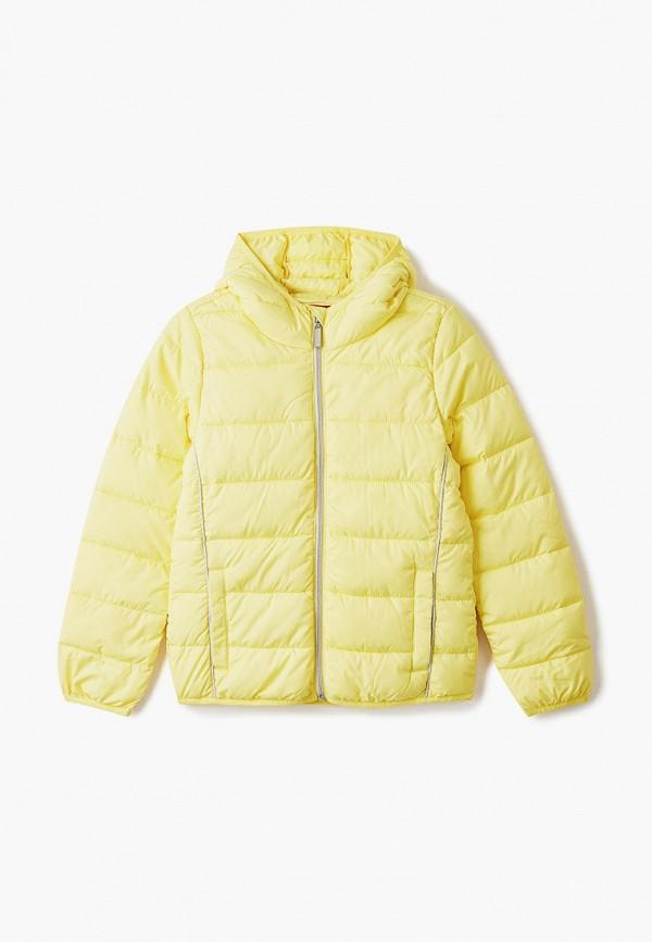 куртка s.oliver для девочки, желтая