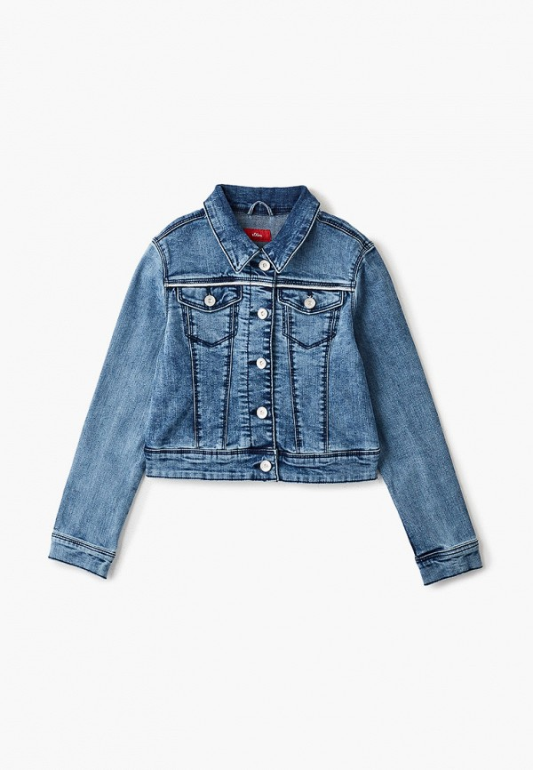 Куртка для девочки джинсовая s.Oliver 401.10.102.26.150.2058700