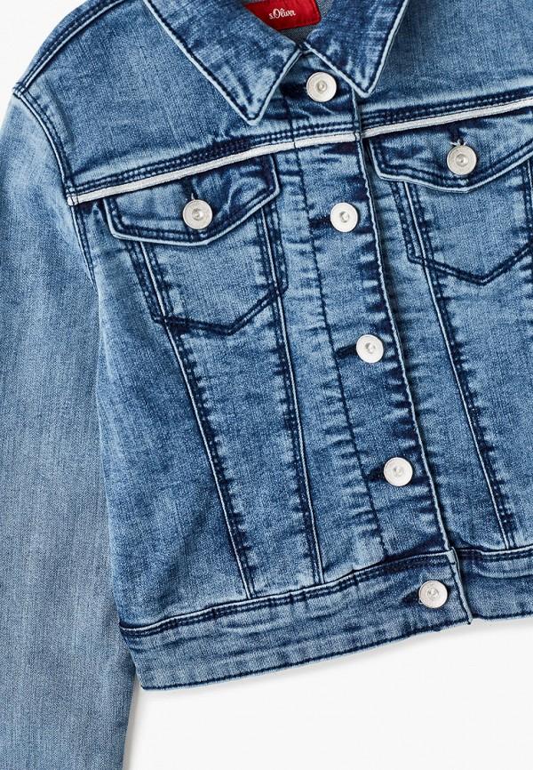 Куртка для девочки джинсовая s.Oliver 401.10.102.26.150.2058700 Фото 3