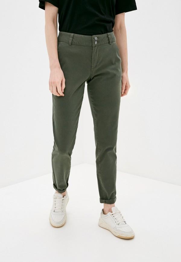 женские повседневные брюки q/s designed by, зеленые