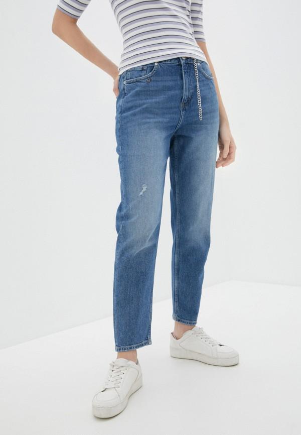 женские прямые джинсы q/s designed by, синие