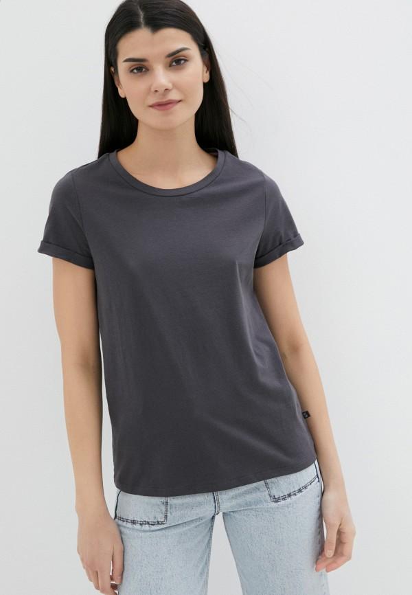 женская футболка q/s designed by, серая