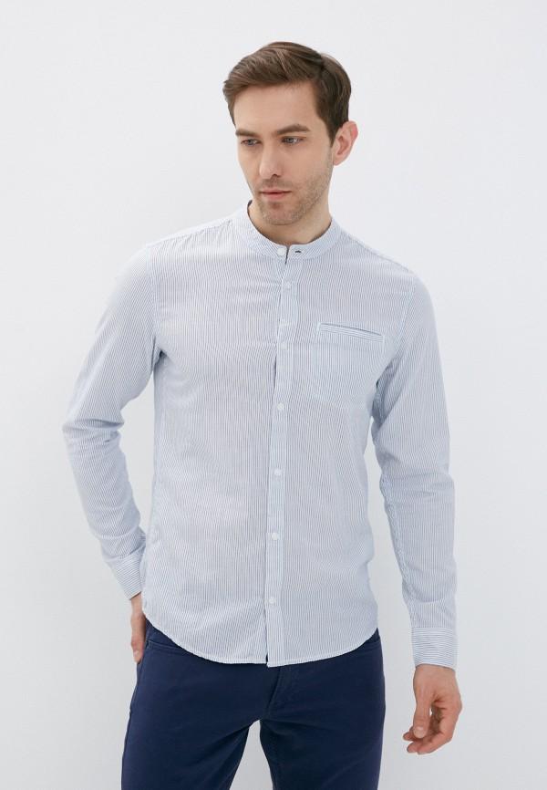 мужская рубашка с длинным рукавом q/s designed by, белая