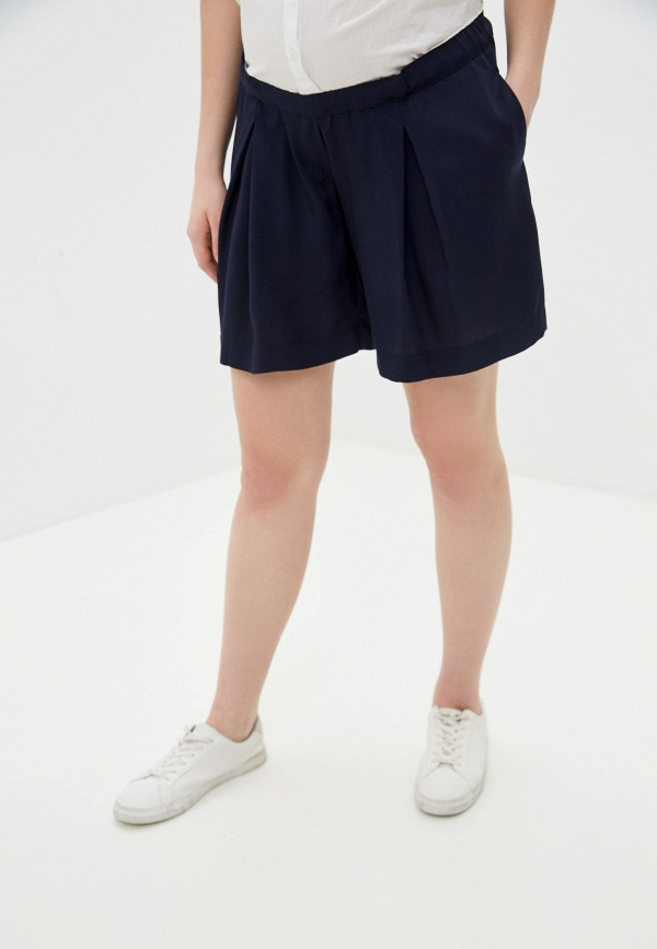 женские повседневные шорты pietro brunelli maternity, синие