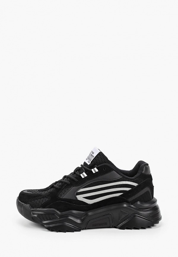 мужские низкие кроссовки patrol, черные