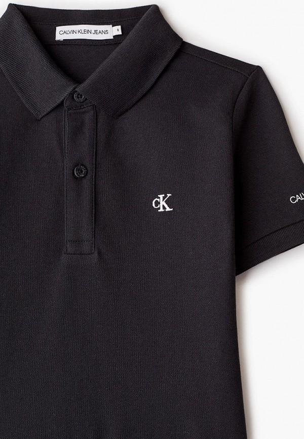 Поло для мальчика Calvin Klein Jeans IB0IB00733 Фото 3