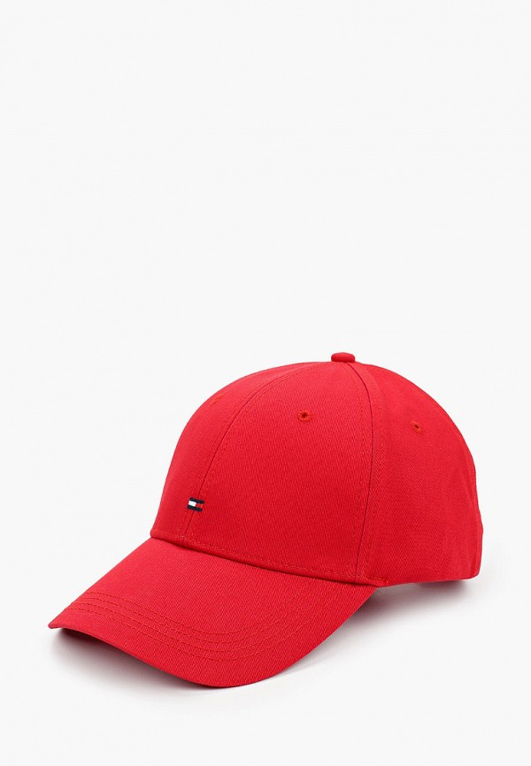 Бейсболка Tommy Hilfiger красного цвета