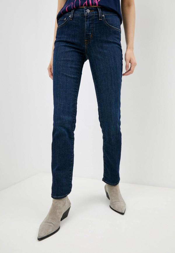 женские джинсы lauren ralph lauren, синие