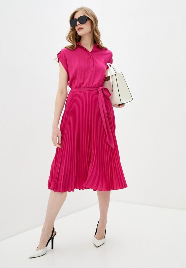 женское платье lauren ralph lauren, розовое