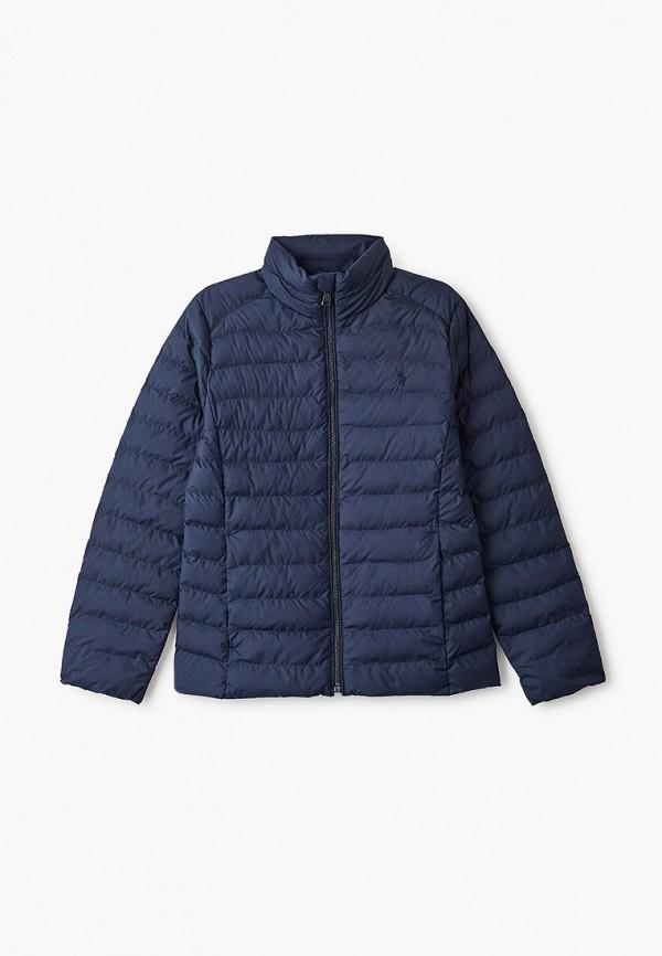 Куртка для девочки утепленная Polo Ralph Lauren 313833149001