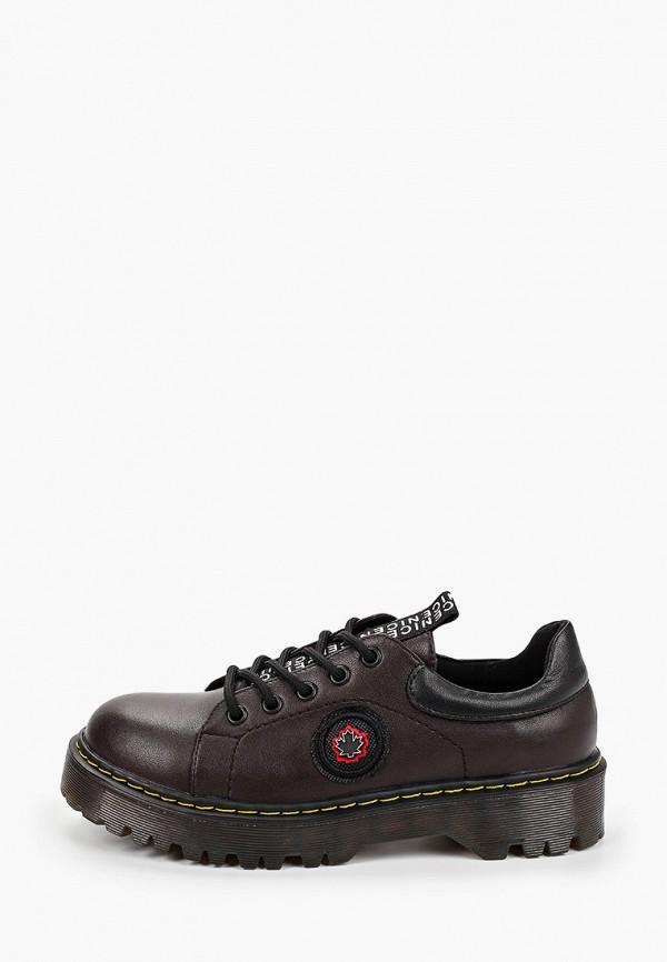 женские ботинки tf's, бордовые