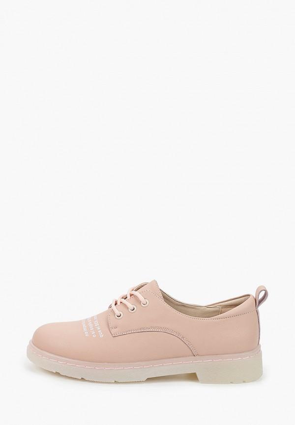 женские ботинки tf's, розовые