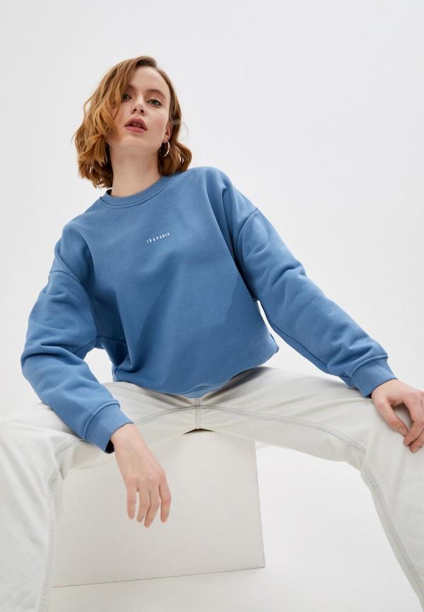 женский свитшот iro, синий