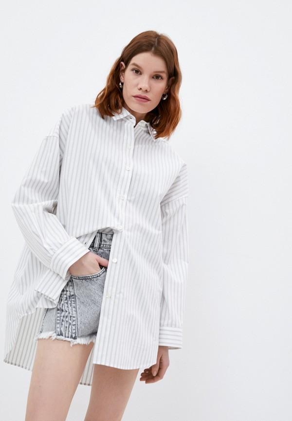женская рубашка с длинным рукавом iro, белая