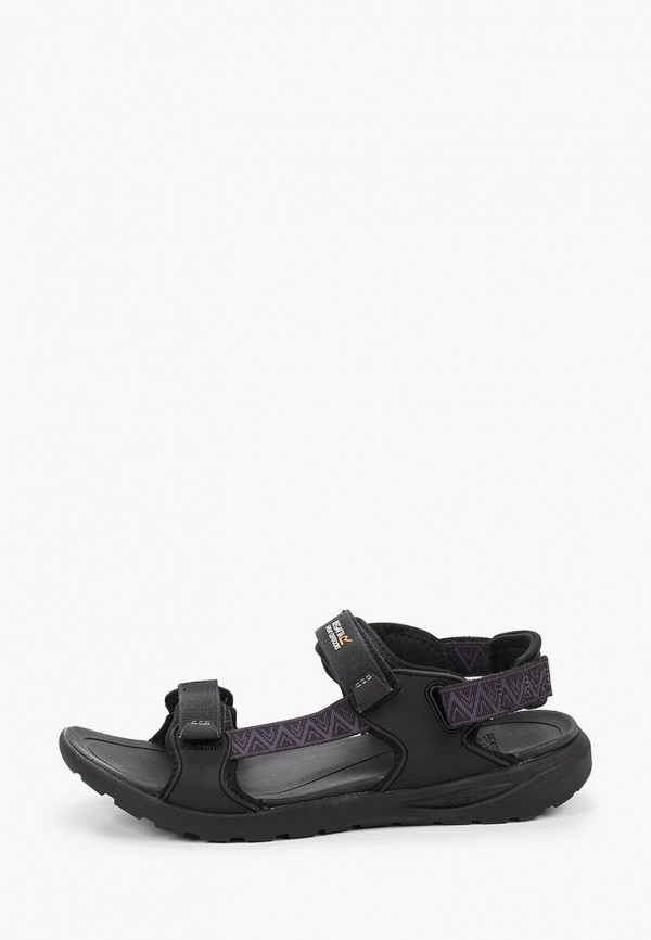 мужские сандалии regatta, черные