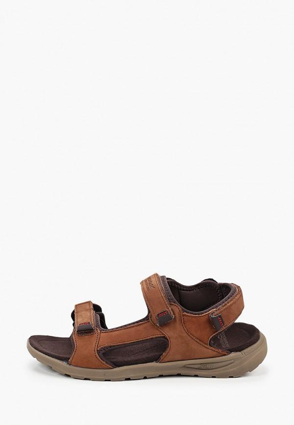 мужские сандалии regatta, коричневые