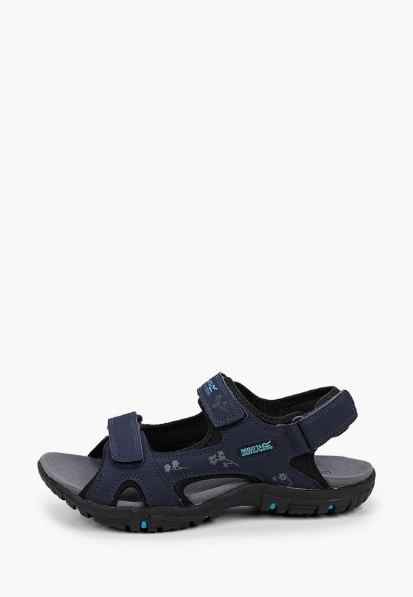 женские сандалии regatta, синие