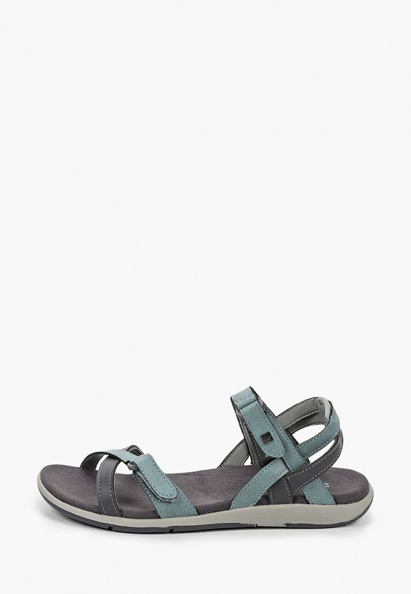 женские сандалии regatta, бирюзовые