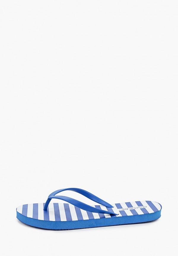 женские сланцы regatta, синие