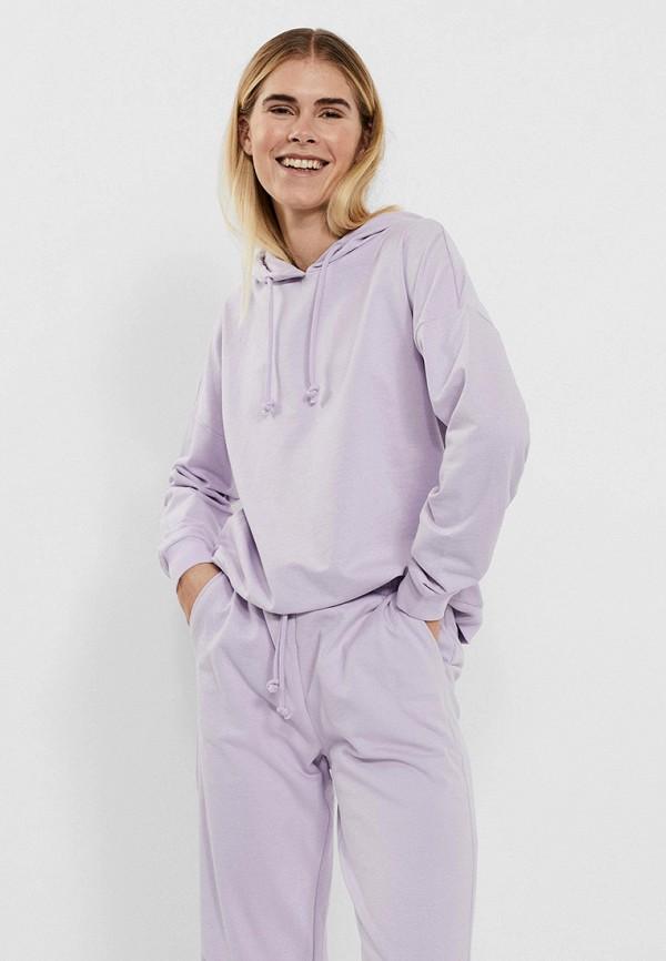 женские худи vero moda, фиолетовые