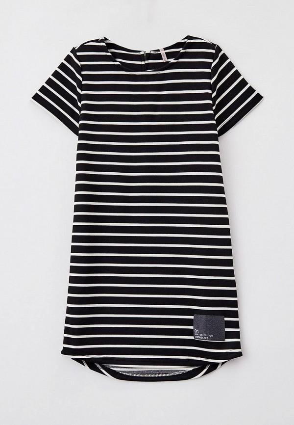 повседневные платье kids only для девочки, черное