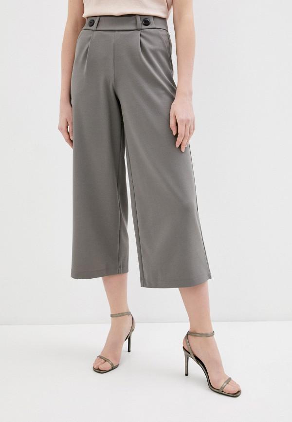 женские брюки jacqueline de yong, серые