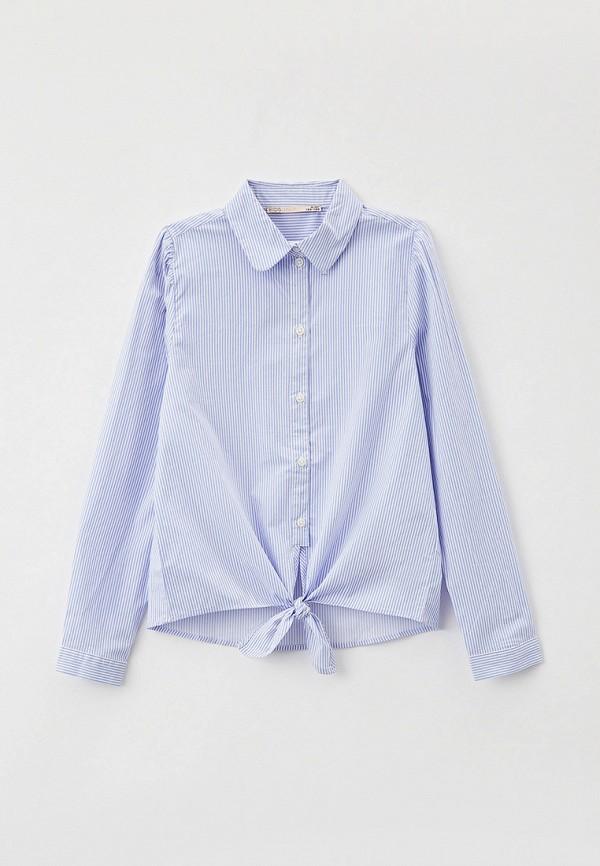 рубашка kids only для девочки, голубая