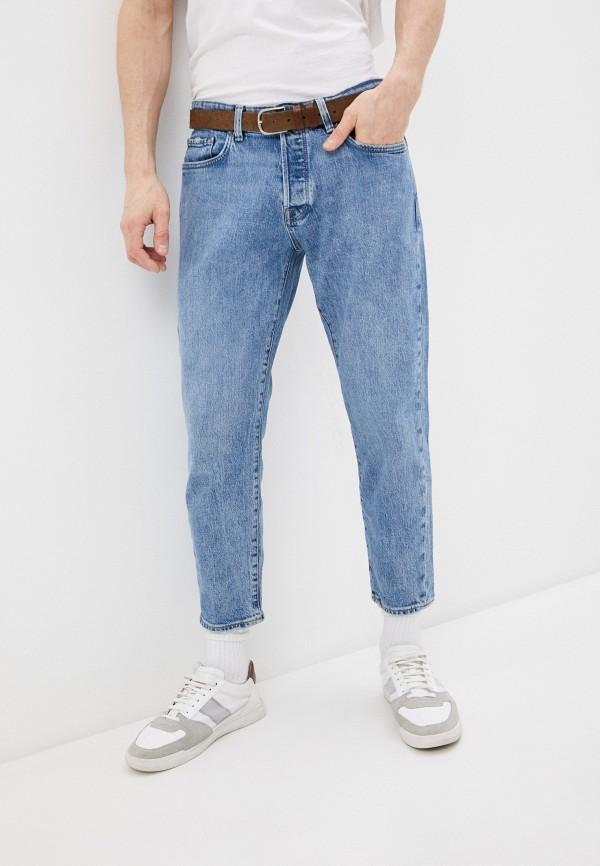 мужские прямые джинсы selected homme, голубые