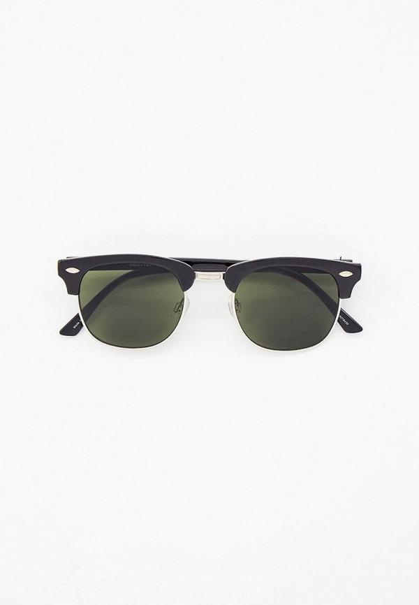 мужские солнцезащитные очки selected homme, черные