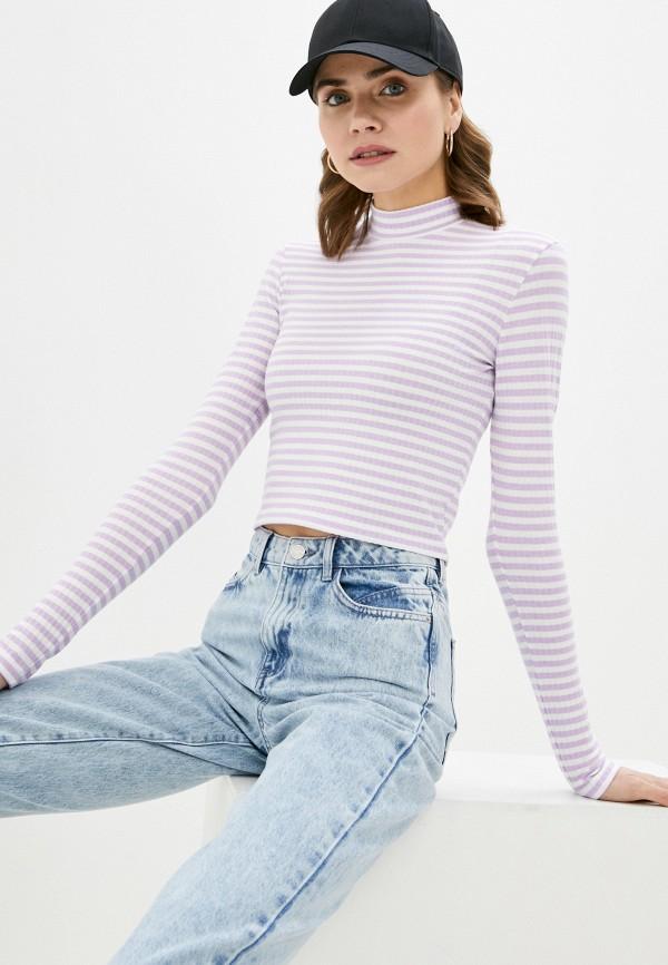 женский топ pieces, фиолетовый