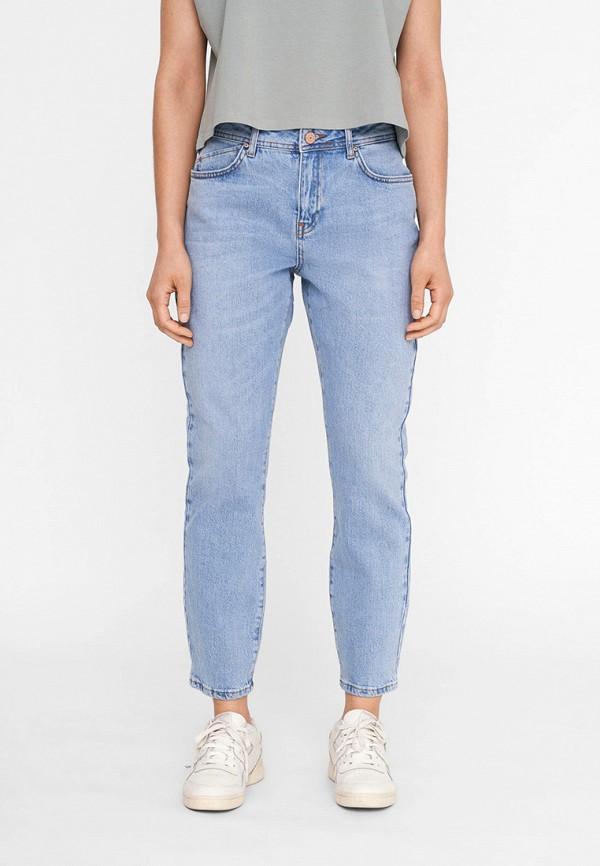 женские джинсы noisy may, голубые