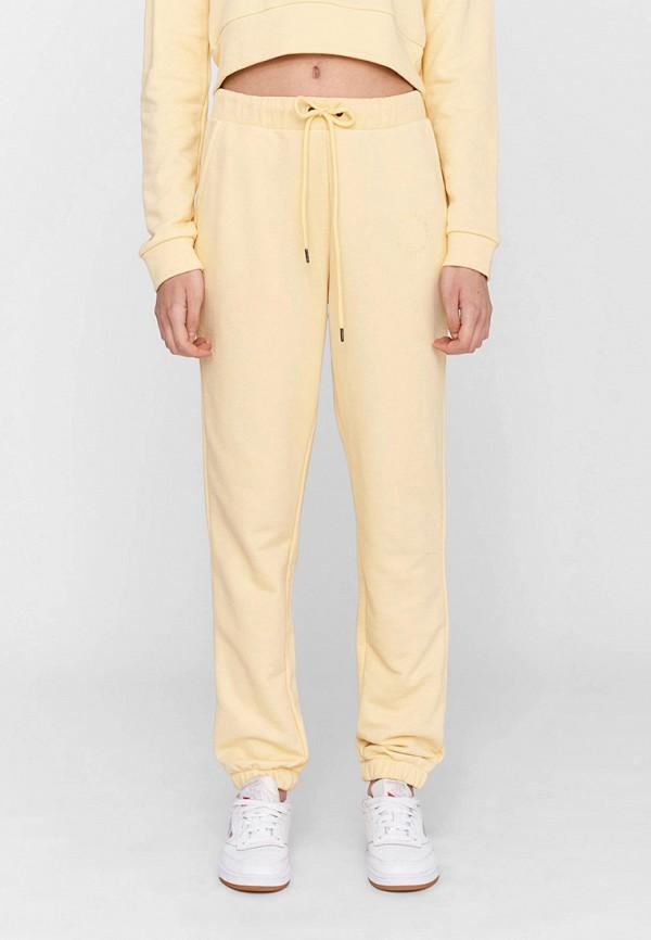 женские спортивные брюки noisy may, желтые