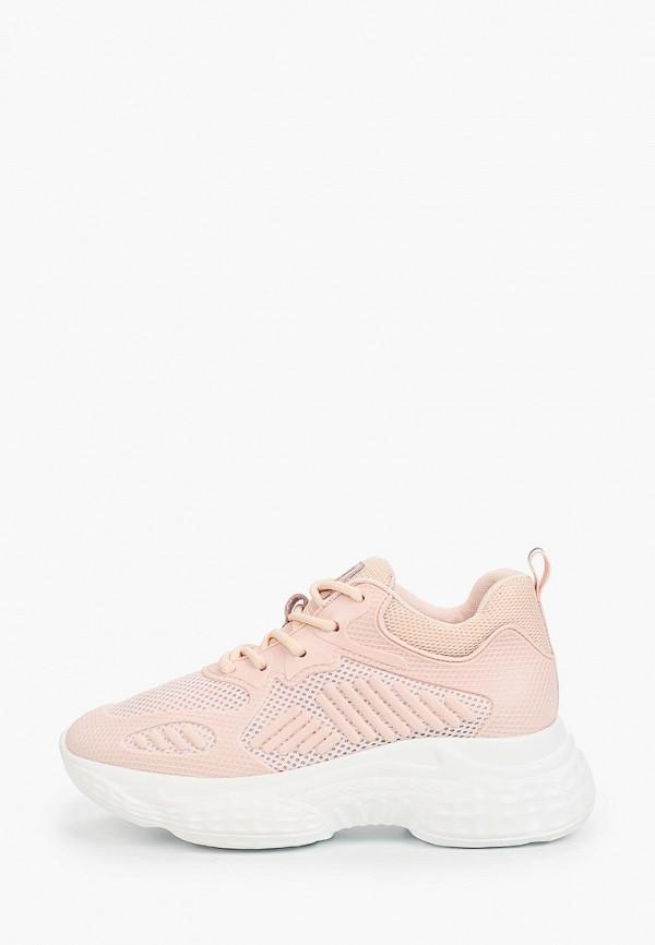 женские кроссовки el tempo, розовые