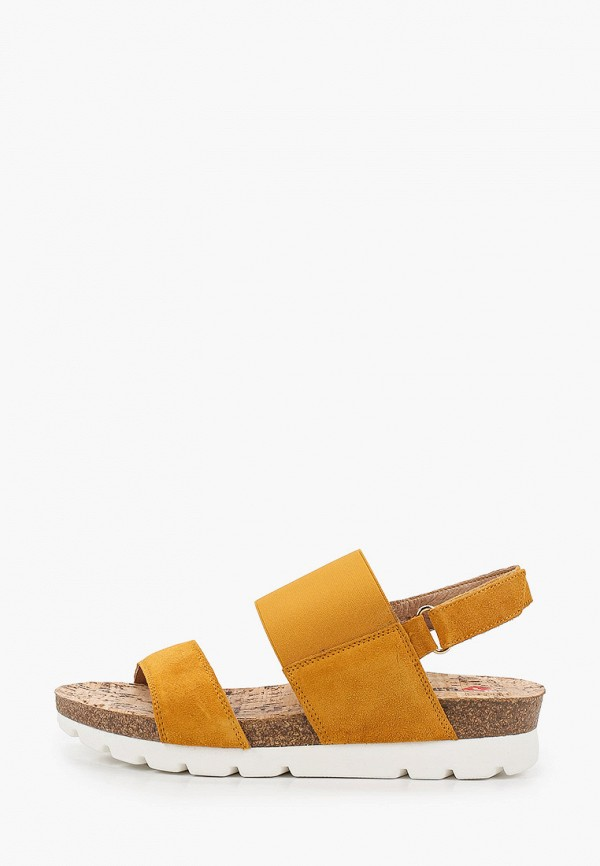 женские сандалии el tempo, оранжевые